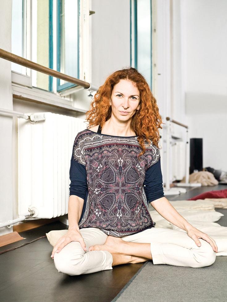 Pecsenka Nóri pszichológus, jógaoktató, a Bodywork módszer megalkotója